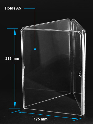 Acrylic DisplayAcrylic Box Photo FramesAcrylic Holder - Acrylic menu table tent holders